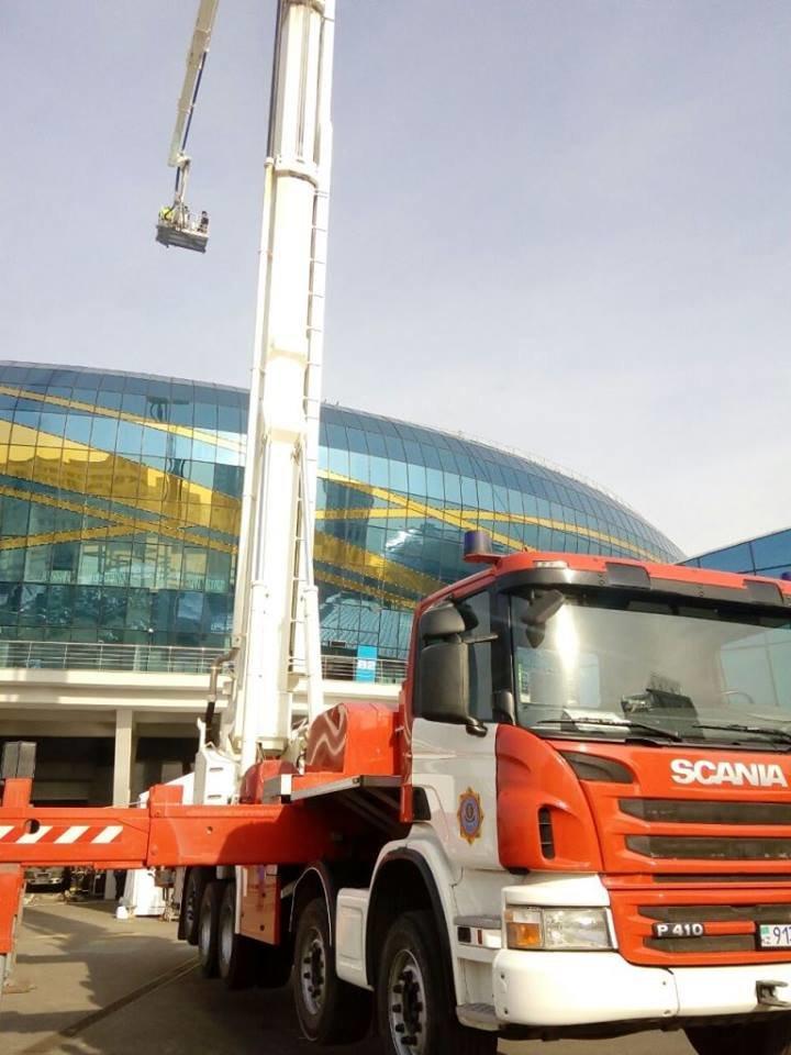 """В безопасности ли гости """"Алматы Арены"""", на личном опыте проверили пожарники. ФОТО, фото-3"""