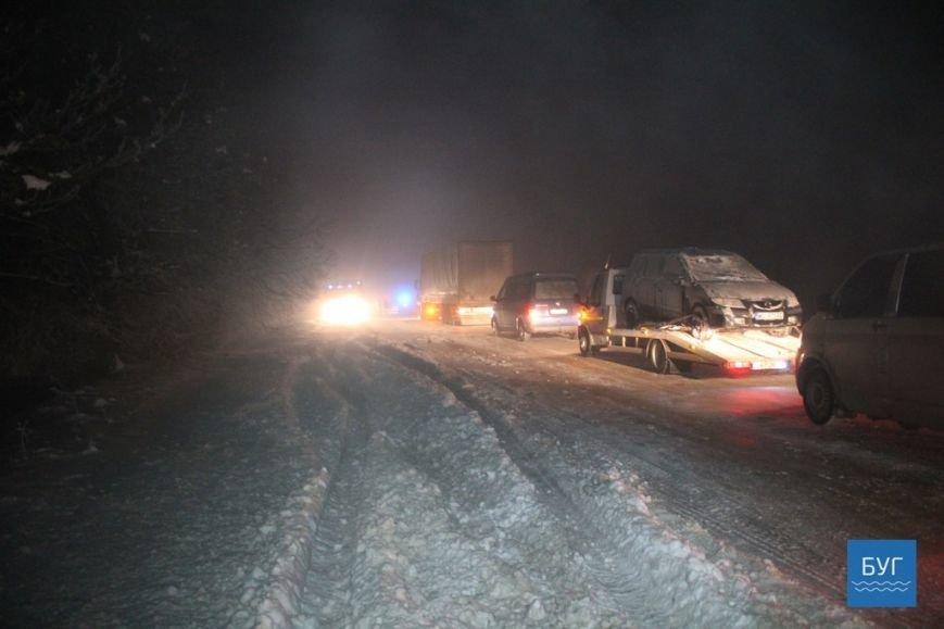 Масове ДТП та величезний затор на волинській дорозі (ФОТО, ВІДЕО), фото-16