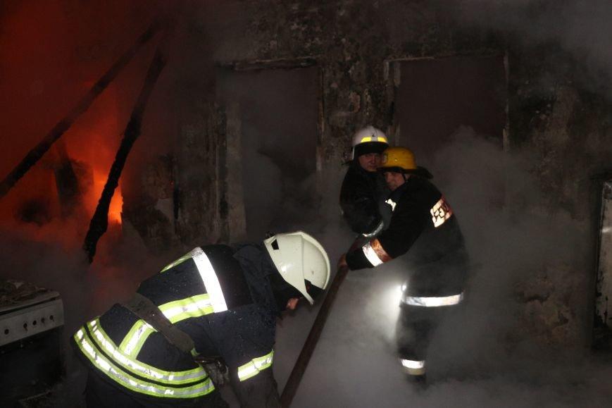 Ночью в Аркадии от пожара пострадали три семьи, фото-1