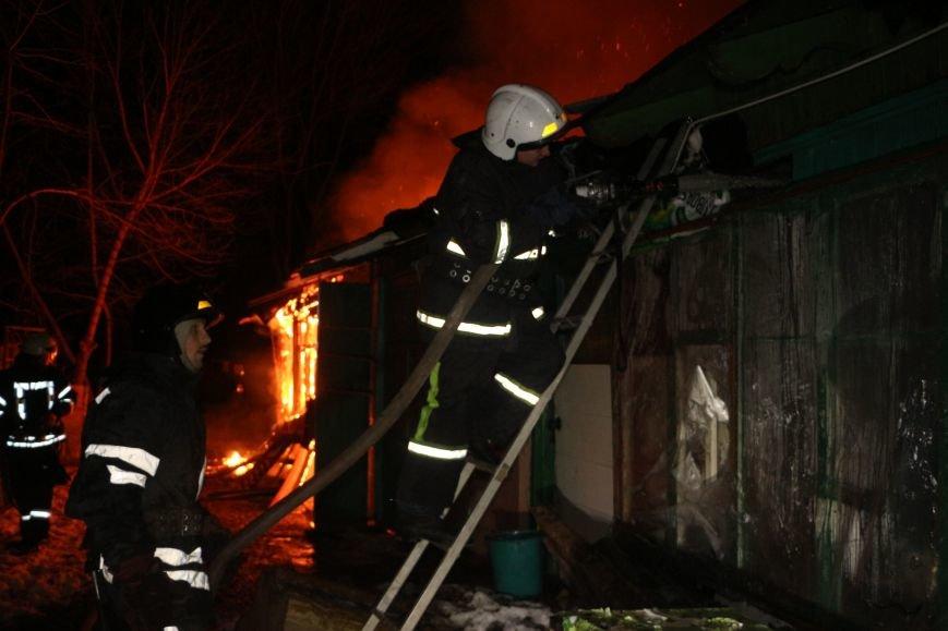 Ночью в Аркадии от пожара пострадали три семьи, фото-2