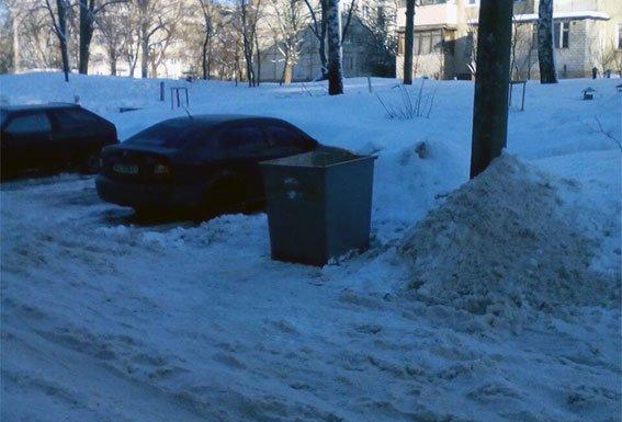 На Салтовке нашли гранату в мусорном баке (ФОТО), фото-1