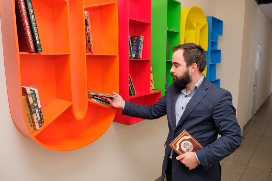 В Днепре в управлении защиты экономики бесплатно обмениваются книгами (ФОТО), фото-3