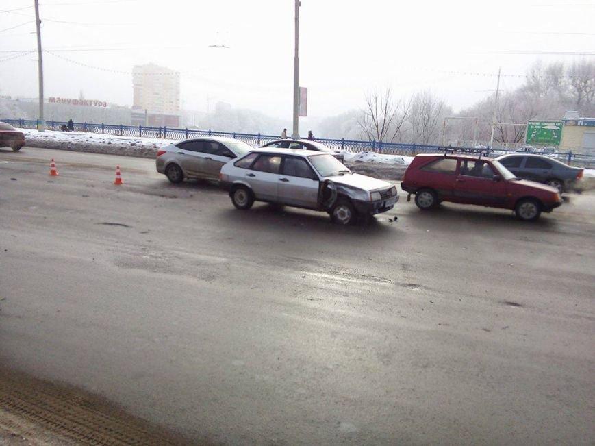 ДТП в Сумах: на Харьковском мосту не разминулись 2 автомобиля (ФОТО), фото-5
