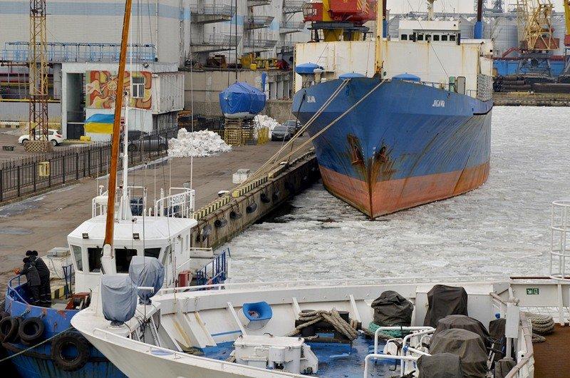 У берегов Одессы море покрылось льдинами (ФОТО), фото-12