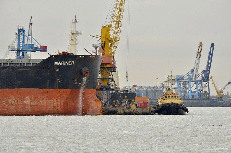 У берегов Одессы море покрылось льдинами (ФОТО), фото-3