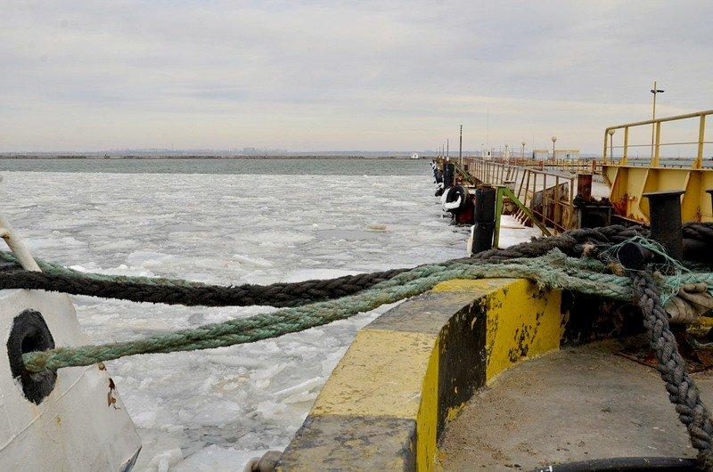 У берегов Одессы море покрылось льдинами (ФОТО), фото-14