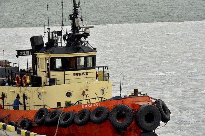 У берегов Одессы море покрылось льдинами (ФОТО), фото-9