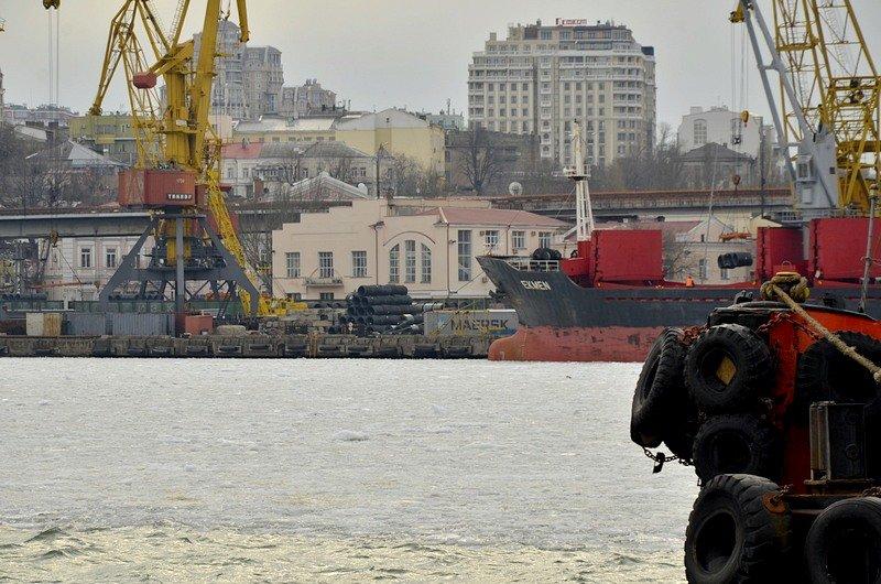 У берегов Одессы море покрылось льдинами (ФОТО), фото-16