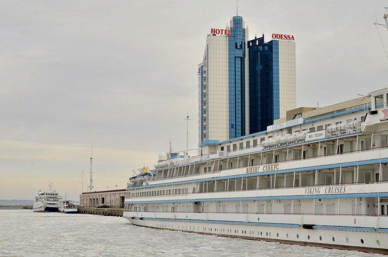 У берегов Одессы море покрылось льдинами (ФОТО), фото-1