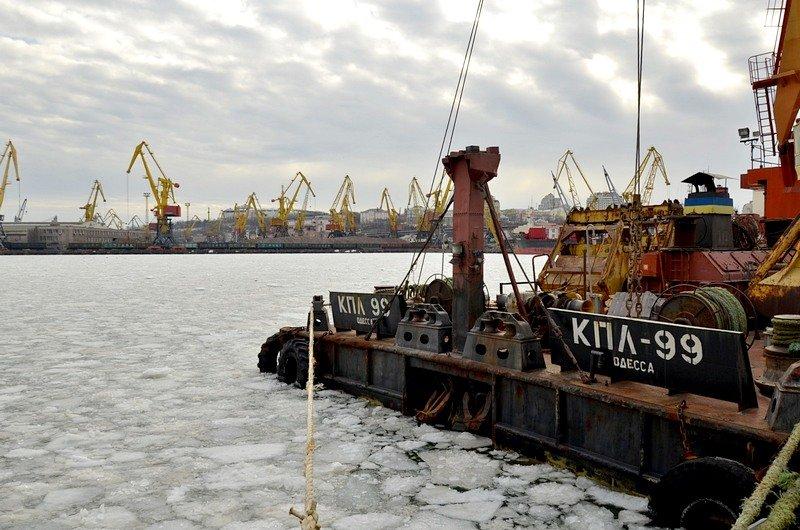 У берегов Одессы море покрылось льдинами (ФОТО), фото-17