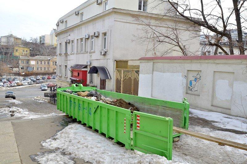 В Одессе заинтересовались развалинами на старейшей лестнице (ФОТО), фото-4