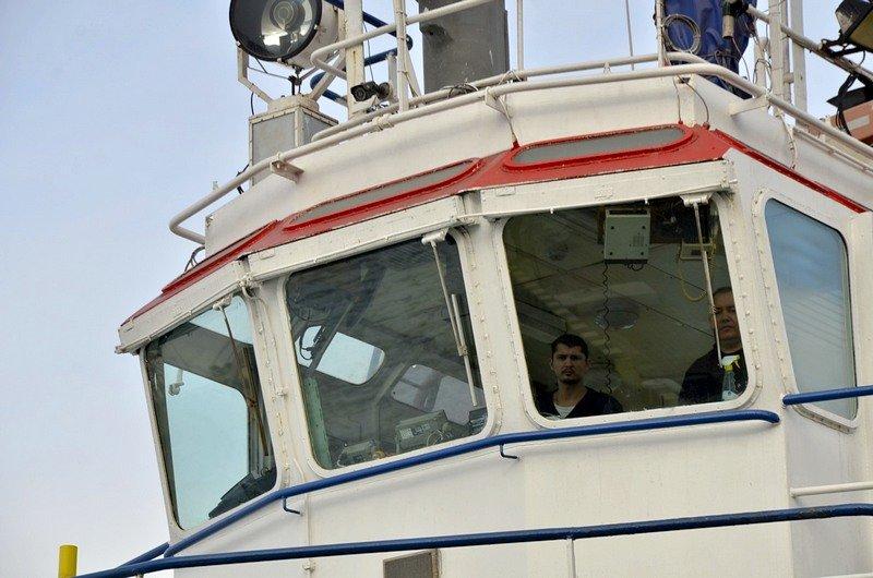 Как буксиры спасали одесский порт от льдин (ВИДЕО), фото-3