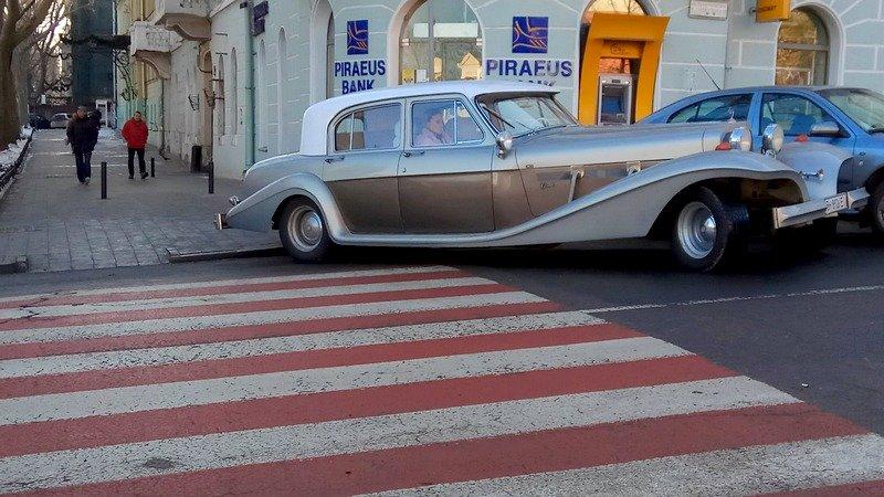 В Одессе завелся экстравагантный автохам (ФОТО), фото-1