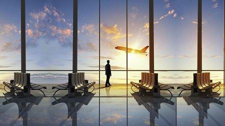 aeroport-nebo-oblaka-samolet
