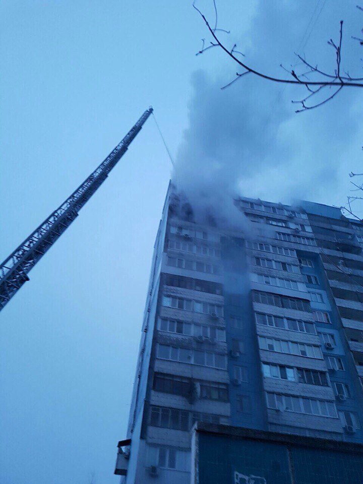 Утренний пожар в Днепре: сгорела квартира (ФОТО, ВИДЕО), фото-10