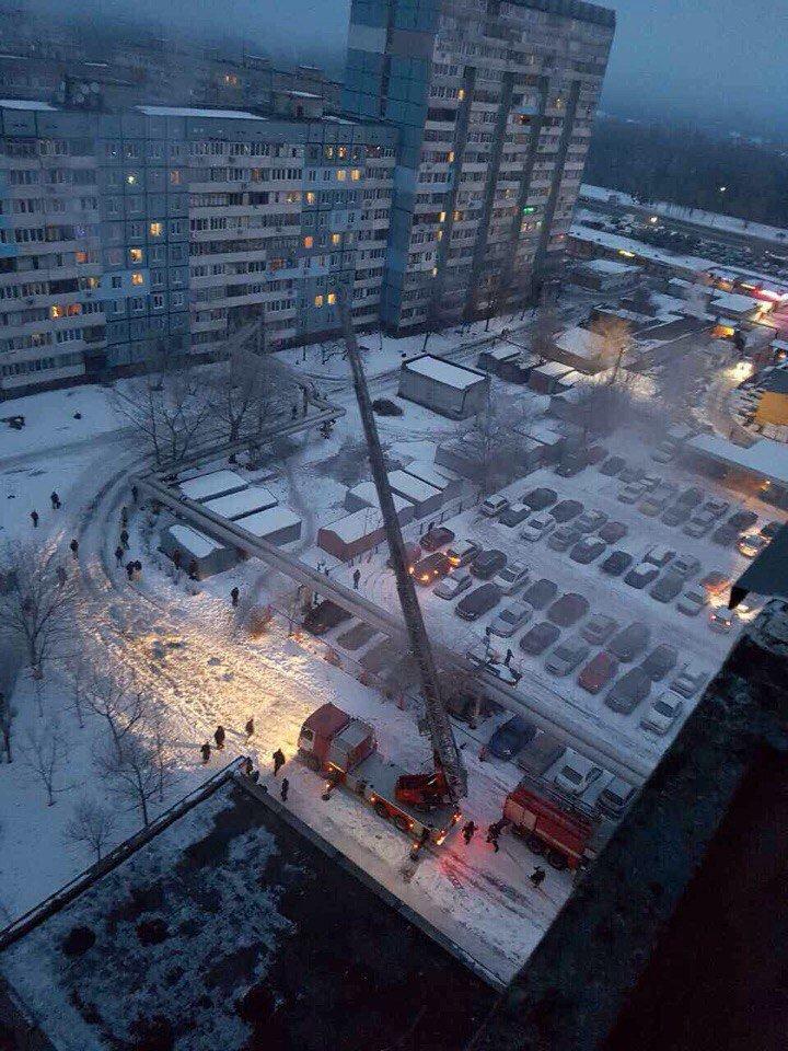 Утренний пожар в Днепре: сгорела квартира (ФОТО, ВИДЕО), фото-1