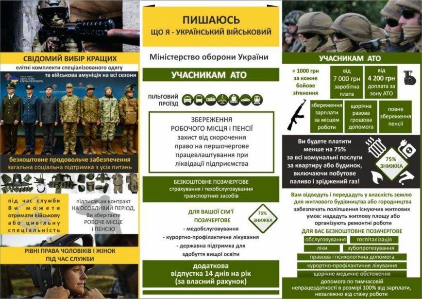 Достойная зарплата и социальные гарантии: жителей Николаевщины приглашают на контрактную службу в армии, фото-1