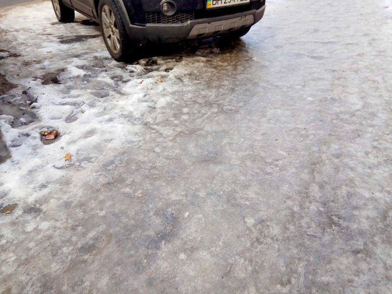 Коммунальщики оставили каток на центральной улице Одессы  (ФОТО), фото-4