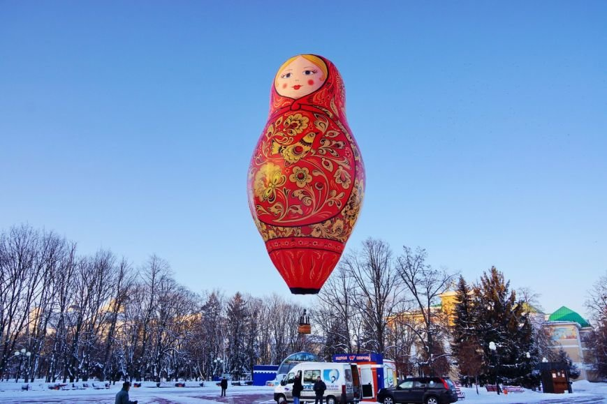 В небо над Белгородом поднялась матрёшка, фото-3