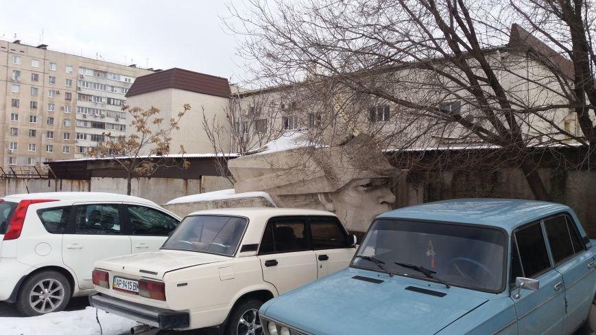 Вожди на зимовке: как поживают демонтированные запорожские памятники, - ФОТО, фото-13