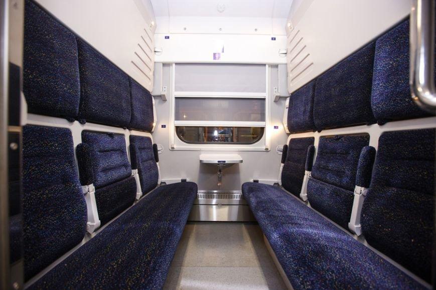 Новий потяг з вагонами-трансформерами відправився в перший рейс (Фото), фото-3