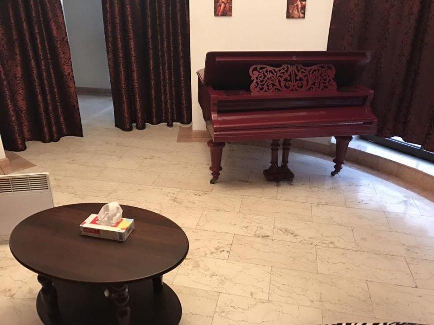 Рояль, неприличные подушки и причудливые секс-приспособления: прокурор опубликовал фото из борделя, фото-2
