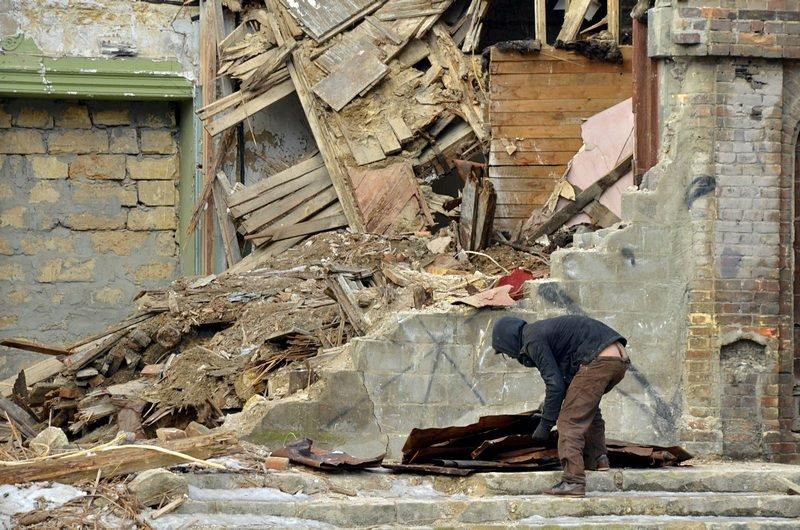 Полная жесть: в Одессе бомж без штанов обокрал Масонский дом (ФОТО), фото-2