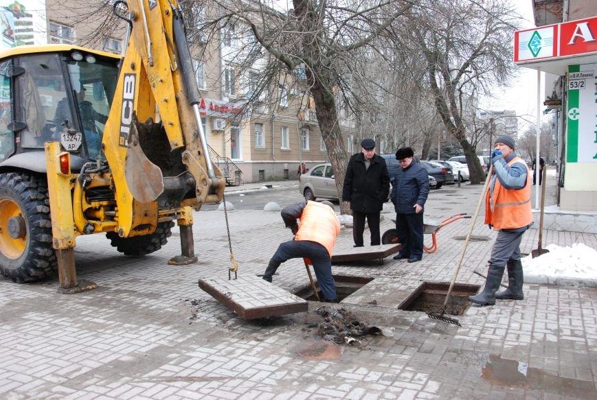 В Бердянске  начали восстанавливать функции ливневой канализации на Азовском проспекте, фото-2