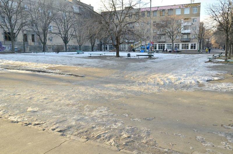 Где в Одессе по льду ни проехать, ни пройти? (ФОТО), фото-11