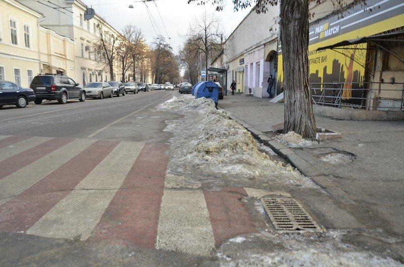 Где в Одессе по льду ни проехать, ни пройти? (ФОТО), фото-34