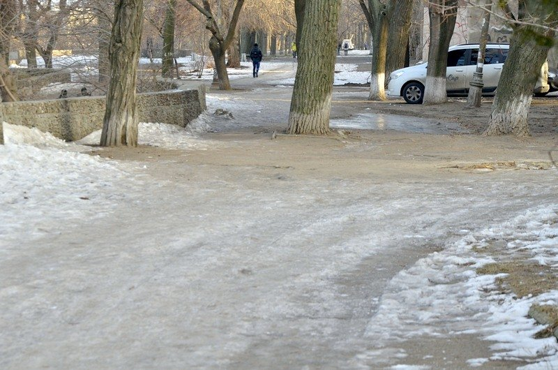 Где в Одессе по льду ни проехать, ни пройти? (ФОТО), фото-14
