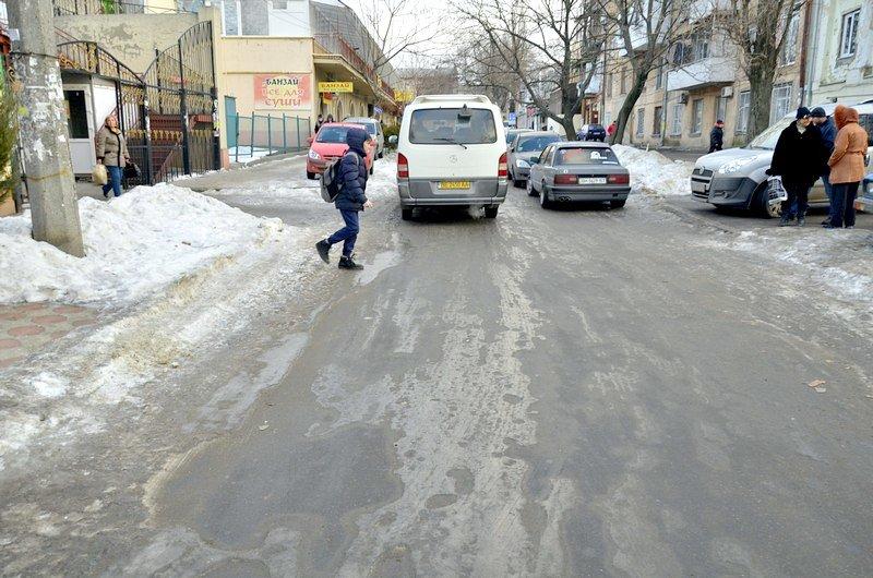 Где в Одессе по льду ни проехать, ни пройти? (ФОТО), фото-28