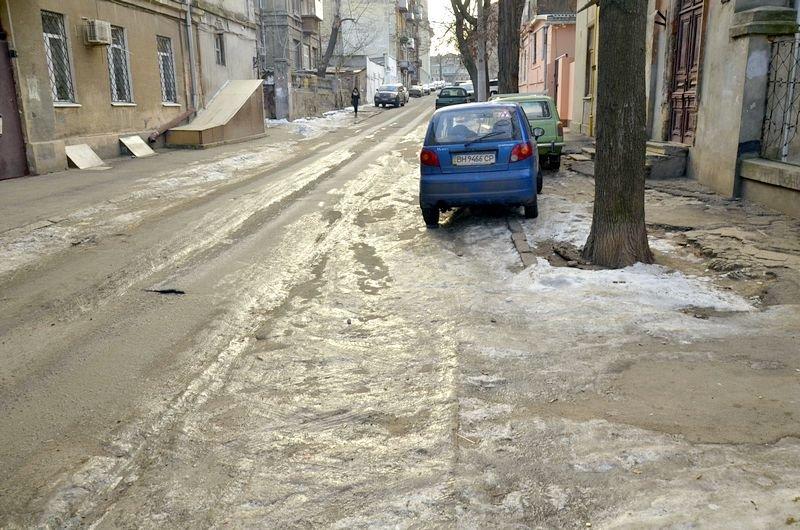 Где в Одессе по льду ни проехать, ни пройти? (ФОТО), фото-16