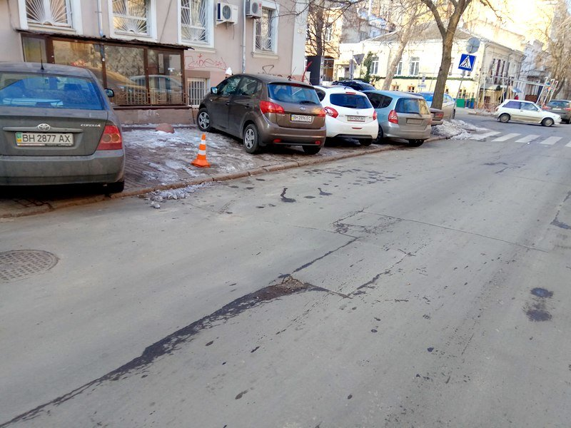 Где в Одессе по льду ни проехать, ни пройти? (ФОТО), фото-4