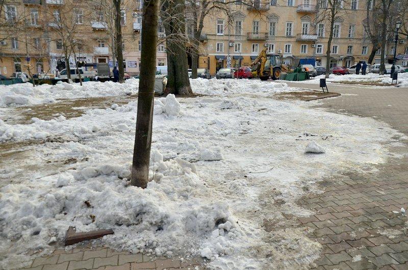 Где в Одессе по льду ни проехать, ни пройти? (ФОТО), фото-38