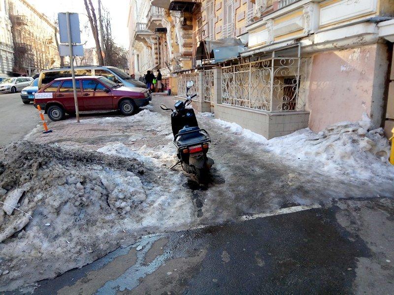 Где в Одессе по льду ни проехать, ни пройти? (ФОТО), фото-1