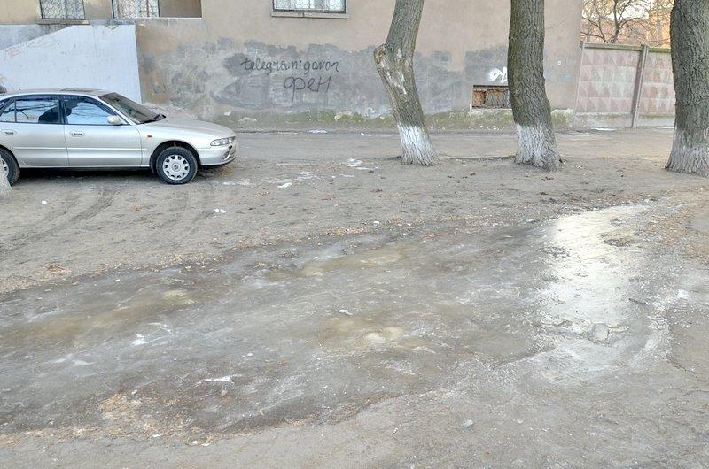 Где в Одессе по льду ни проехать, ни пройти? (ФОТО), фото-13