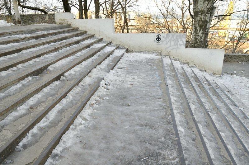 Где в Одессе по льду ни проехать, ни пройти? (ФОТО), фото-8