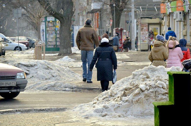 Где в Одессе по льду ни проехать, ни пройти? (ФОТО), фото-32