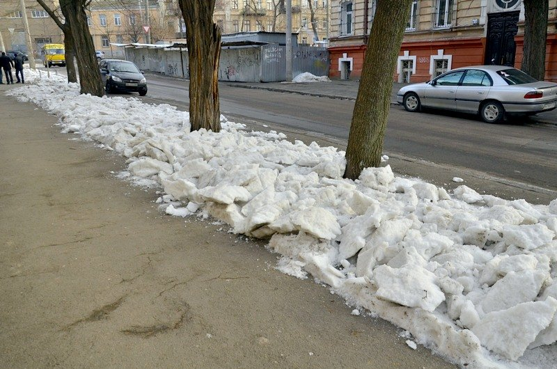 Где в Одессе по льду ни проехать, ни пройти? (ФОТО), фото-24