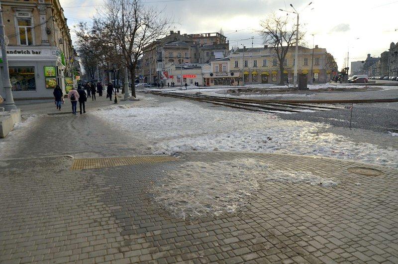 Где в Одессе по льду ни проехать, ни пройти? (ФОТО), фото-40