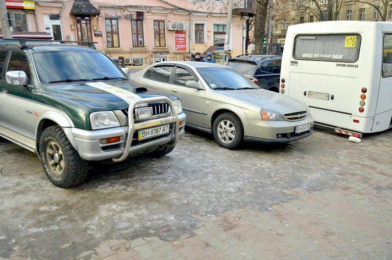 Где в Одессе по льду ни проехать, ни пройти? (ФОТО), фото-37
