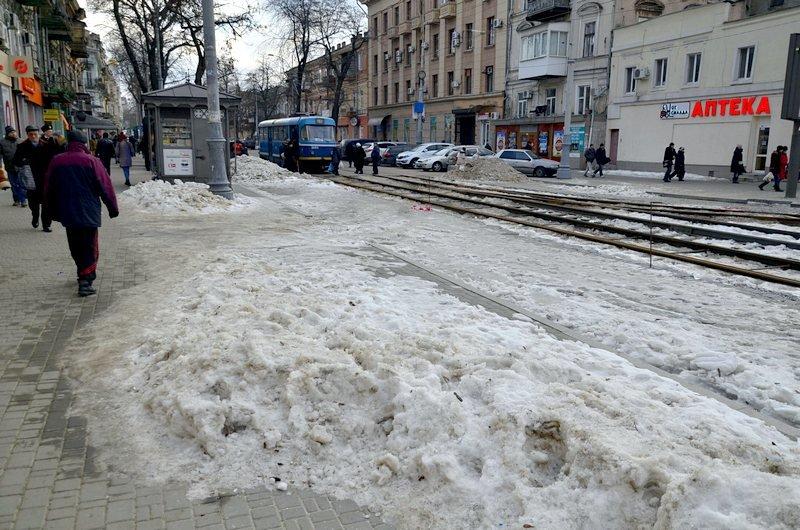 Где в Одессе по льду ни проехать, ни пройти? (ФОТО), фото-41