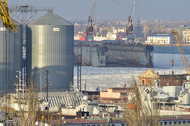 В Одессе льды сковали корабли Военно-морских сил Украины (ФОТО), фото-8