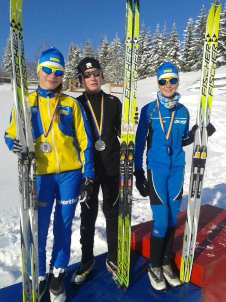 На Чемпіонаті України з лижних гонок конотопці завоювали три срібні медалі, фото-1