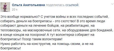 В Северодонецке считают позором инициативу волонтёрки по сбору средств на боеприпасы, фото-1