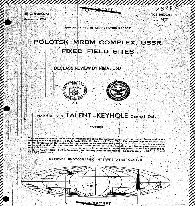За Полоцком внимательно следила американская разведка: что скрывали архивы ЦРУ, фото-1