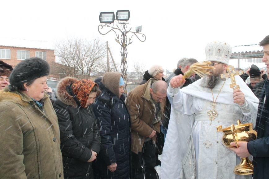 Православные бахмутчане отмечают праздник Крещения Господня, фото-9