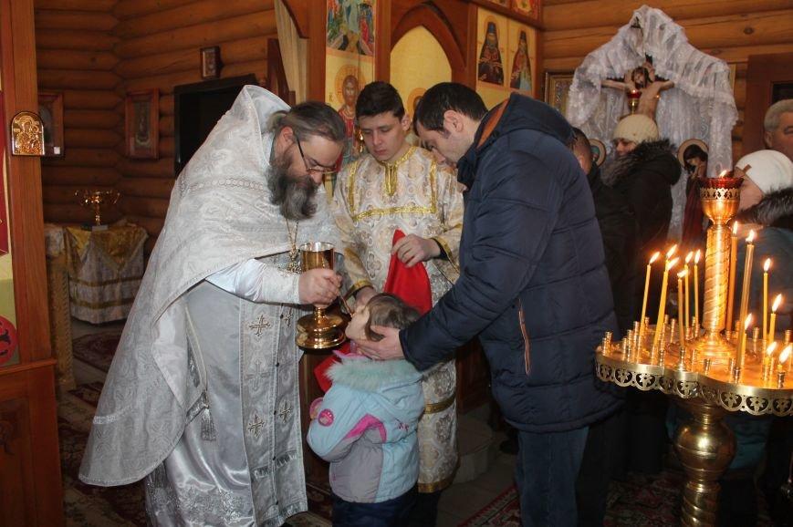 Православные бахмутчане отмечают праздник Крещения Господня, фото-1