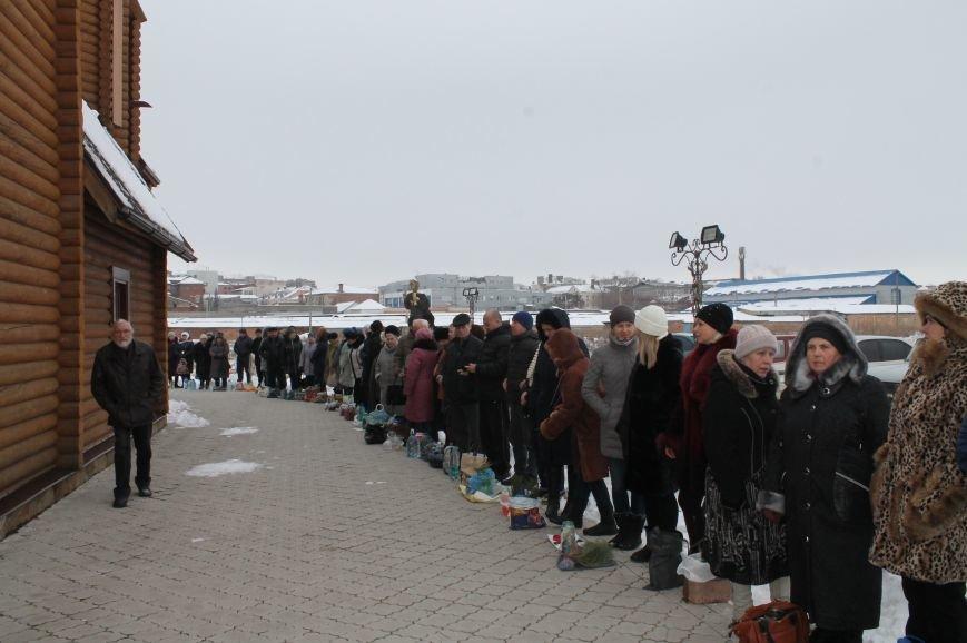 Православные бахмутчане отмечают праздник Крещения Господня, фото-7